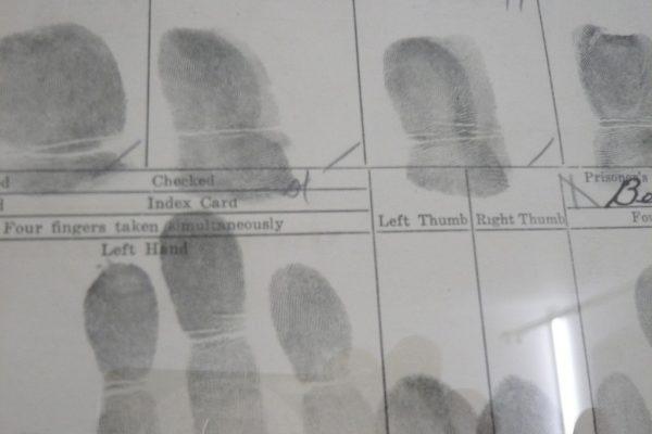 AT SAFE DISTANCE - Finger Prints